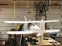 Name: IMG_1996.jpeg Views: 13 Size: 1.81 MB Description: N-Struts clamped in place with wings under tension.  Please excuse the mess...