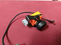Name: IMG_20180824_220436.jpg Views: 10 Size: 2.98 MB Description: The camera mount has had a nylon nut attached to it.  Now the camera can be screwed on to the mount same as the GoPro.