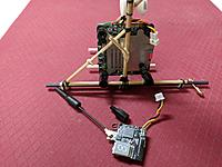 Name: IMG_20180824_220211.jpg Views: 11 Size: 1.03 MB Description: Camera board mounted, waiting to attach the video transmitter.  The transmitter fits snug between some bamboo guides.  Held in place with another plastic stand off.  Stand offs are easy to finger tighten.