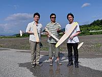 Name: CIMG0671b.jpg Views: 1378 Size: 119.7 KB Description: Me, Mitsuru Ishii, and Junji Ishii (from left to right)
