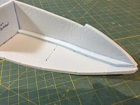 """Name: IMG_9436.JPG Views: 3 Size: 1.91 MB Description: cut a scrap piece of foam strip about 1/4"""" wide and glue into place. taper the front piece."""