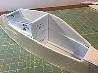 Name: IMG_9442.JPG Views: 3 Size: 1.88 MB Description: place the canopy bulkhead directly over the fuselage bulkhead for position and glue it to the side of canopy