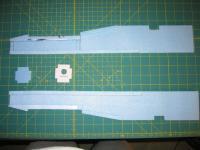 Name: MiG-32 construction pic 01.jpg Views: 1627 Size: 78.4 KB Description: doublers glued on