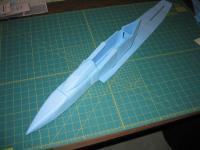 Name: MiG-32 construction pic 20.jpg Views: 1506 Size: 82.7 KB Description: rear bottom fuse glued on