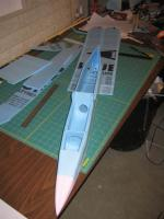 Name: IMG_4716.jpg Views: 2304 Size: 76.1 KB Description: then glue on the bottom fuse.  here is what she looks like so far.