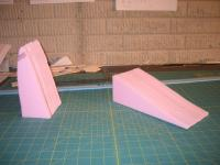 Name: F-111 118% build 01.jpg Views: 599 Size: 78.2 KB Description: nosecone and cockpit pieces are laminated together