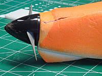 Name: BlackWitch_DSC02271.jpg Views: 80 Size: 115.5 KB Description: Nose damage on Alpha 1.