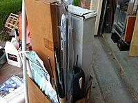 Name: IMG_1558.jpg Views: 154 Size: 89.8 KB Description: bunch of carbon fiber tube, stick, etc, two boxes of balsa wood sheet, stick, scraps, etc