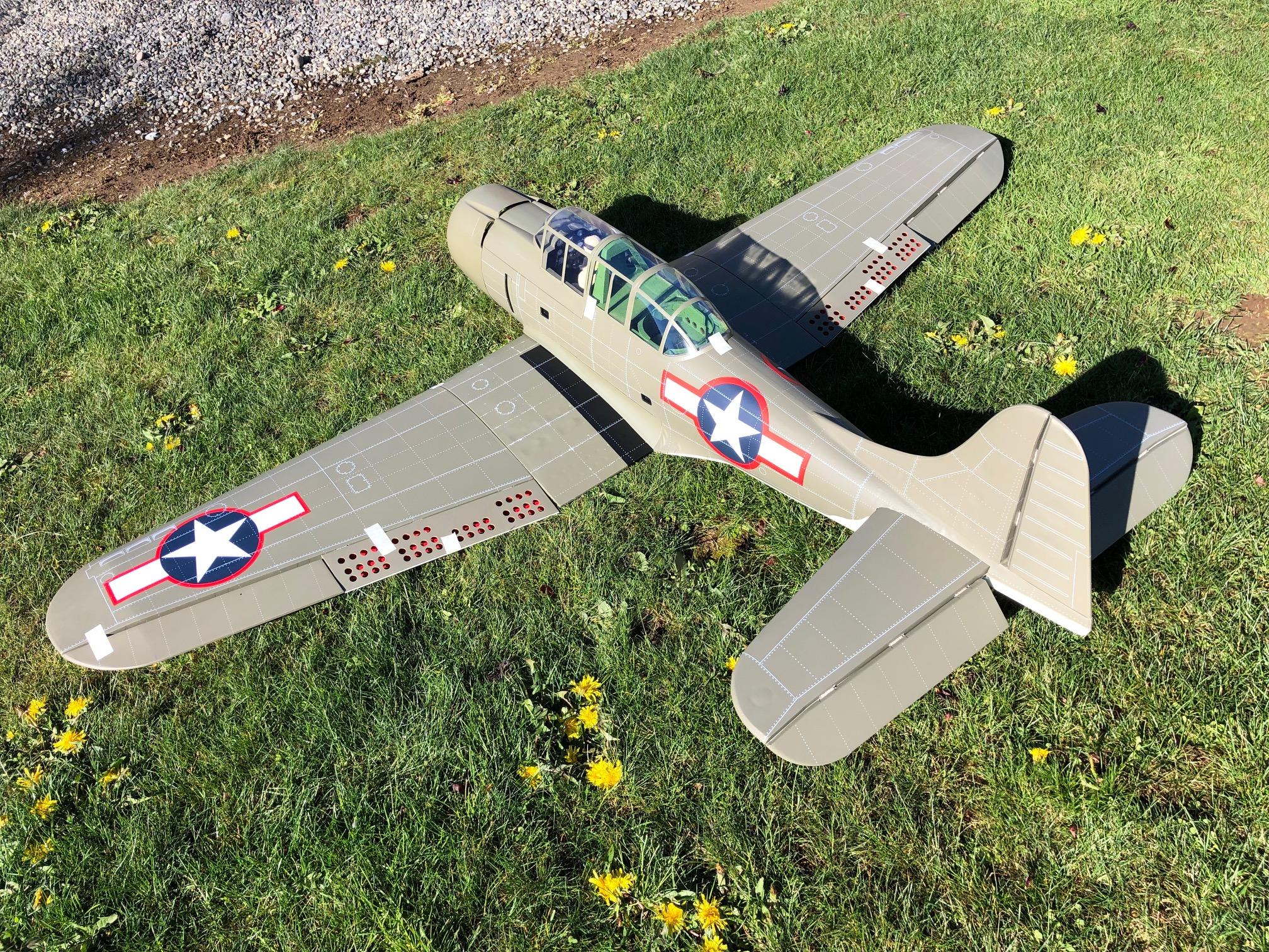 VQ Warbirds A-24 Banshee 80