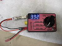 Name: IMG_1306.jpg Views: 191 Size: 185.4 KB Description: Setup for measuring 1S battery