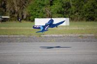 "Name: DSC_0019.jpg Views: 117 Size: 70.7 KB Description: My PZ Corsair ""Barbara Sue"" taking off."