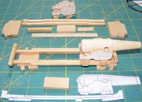 """Name: pivotguns02.jpg Views: 290 Size: 105.4 KB Description: Chassis and carriages for 10"""" shell guns."""