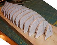 Name: con10sep15e.jpg Views: 97 Size: 70.9 KB Description: Forms cut out and glued to building board.