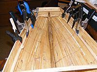 Name: pri20120115d.jpg Views: 110 Size: 163.4 KB Description: Deck clamps going in 1/15/12