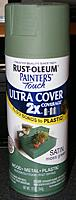 Name: pri20120405e.jpg Views: 78 Size: 51.4 KB Description: Rust-Oleum satin Moss Green spray paint.