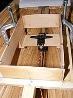 Name: pri20120504i.jpg Views: 90 Size: 89.5 KB Description: Rudder servo on it tray suspended below deck level in the aft cabin