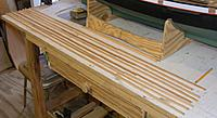Name: pri20120516e.jpg Views: 76 Size: 108.0 KB Description: Bird's mouth cut and staves are laid out to make sure but joints are well staggered