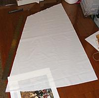 Name: pri20120602a.jpg Views: 66 Size: 77.2 KB Description: The fore-sail, first cut with the new hot-knife tip.