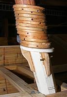 Name: pri20120613b.jpg Views: 61 Size: 64.9 KB Description: Main boom saddle got it's knees installed