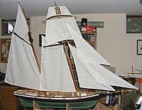 Name: pri20120713f.jpg Views: 131 Size: 121.1 KB Description: All the sails are sewn!