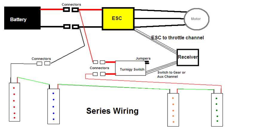 Discussion Turnigy Receiver Controlled Switch issue - Page 2 - RC Groups | Turnigy Wiring Diagram |  | RCGroups