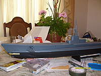 Name: rc submarine 007.jpg Views: 1472 Size: 89.6 KB Description: outer torpedo tube still needed to be painted,i have since painted it not noticeabel any more
