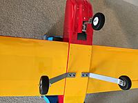Name: image.jpg Views: 65 Size: 760.3 KB Description: Nose gear is a Phoenix compression strut. The smaller main gear legs were in my parts bin. Not sure where they came from.