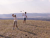 """Name: PICT0421.jpg Views: 43 Size: 276.5 KB Description: Something to do when there's no wind """"Fore!!!"""""""