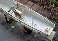 Name: Noux2_#2_01.jpg Views: 817 Size: 112.6 KB Description: Poured in epoxy mixed with West System Microlight. Waterproofs keel box and rudder block. That's after 2 previous internal 'wash' layers of epoxy to seal pinholes.