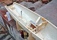 Name: Noux2_#2_06.jpg Views: 711 Size: 110.9 KB Description: Note how rough the bulkhead is. Kept hacking it to make room for small wood blocks and hole for sheet travel from drum.