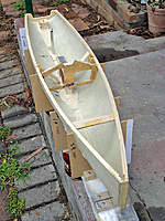 Name: Noux2_#2_07.jpg Views: 681 Size: 136.2 KB Description: Once drum servo cross beams added will have increased rigidity in hull sides. Not dependent on bulkhead alone. Drum will be starboard just in front of bulkhead.