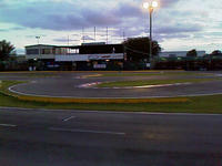 Name: TrackNite01.jpg Views: 97 Size: 79.5 KB Description: Back straight, drivers stand, getting darker..
