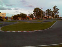 Name: TrackNite02.jpg Views: 127 Size: 78.0 KB Description: Midfield area, lights coming on..