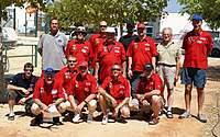 Name: Spain-UKteam shirts.jpg Views: 342 Size: 93.1 KB Description: Me on the far left in black...