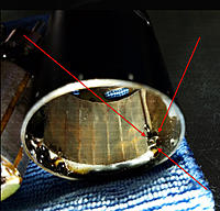 Name: metal arrow.jpg Views: 24 Size: 123.0 KB Description: The arrow shaped metal piece was attracted to the magnet at this place.