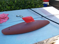 Name: res032.jpg Views: 75 Size: 98.6 KB Description: Reduced length keel is in place.