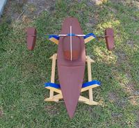 Name: res106.jpg Views: 77 Size: 175.4 KB Description: I used a carbon fiber tube to support the outriggers.
