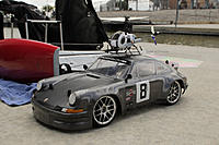 Name: res1606.jpg Views: 63 Size: 159.0 KB Description: Chris's 911 with a 1/3 scale RC heli on the roof.
