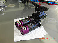 Name: res1144.jpg Views: 153 Size: 187.8 KB Description: The two Velkom motors are even longer than the gearboxed Kyosho's!
