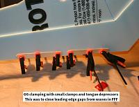 Name: FFF-GG_04.jpg Views: 9 Size: 59.7 KB Description: GG shoved into gaps and tongue depressors and clamps used to close them