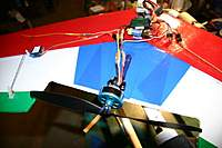 "Name: 31_servos_electronics.jpg Views: 208 Size: 51.9 KB Description: DAT-750 on SpaFFFnutz 48"" KFm4 flying wing"