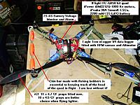 Name: 15_Read_to_fly.jpg Views: 71 Size: 424.1 KB Description: Eagle Tree eLogger and battery in place, chin bar with bobbers is for visibility in flight