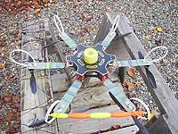 Name: 03_landing_loops_shock_pad.jpg Views: 51 Size: 146.9 KB Description: The pool noodle pad and cable tie loop landing legs soften the touch downs