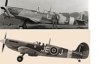 Name: PZ Spit Scale Comparison.jpg Views: 746 Size: 29.9 KB Description: Original JJ picture flipped for easier comparison...... so the letters are mirrored.