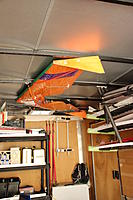 Name: IMG_2550.jpg Views: 25 Size: 119.2 KB Description: Mother ship is hanging on the roof.