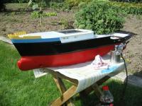Name: Hull main paint appied.JPG Views: 3235 Size: 87.3 KB Description: