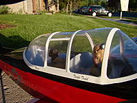 Name: DSC03173.jpg Views: 140 Size: 77.8 KB Description: Still the same Roscoe from the T-28 days!!!!  My trusty Co-Pilot.