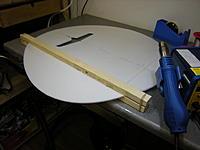 Name: DSCN5471.jpg Views: 190 Size: 175.8 KB Description: bending the wing tips with heat gun