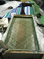 Name: Photo2252.jpg Views: 85 Size: 163.3 KB Description: Sand resin mix as a filler finished off with 2x layers 406g biaxial glass cloth as a binding layer.