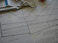 Name: IMG_0599.jpg Views: 61 Size: 160.0 KB Description: First sketch of possible cockpit canopy. Probably easier to blend in if moved forwards somewhat?